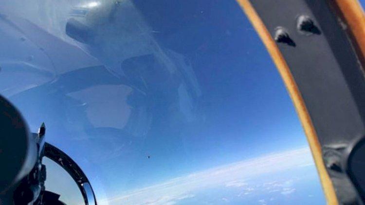 Pentagon'un UFO raporu sızdı: Savaş pilotunun çektiği fotoğraf ortaya çıktı