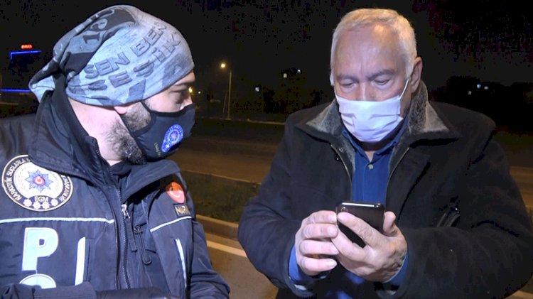 71 yaşındaki kısıtlamayı deldi, maskesiz ve alkollü yakalandı