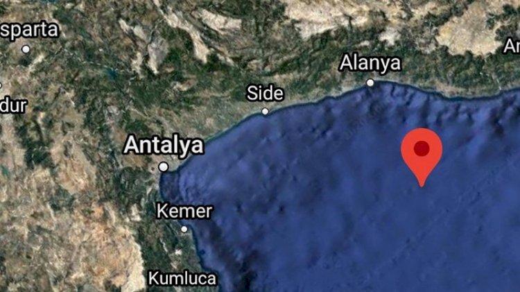 Antalya'da deprem!