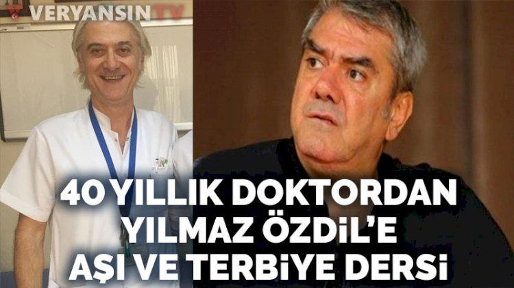 Yılmaz Özdil ile 40 yıllık doktorun aşı tartışması
