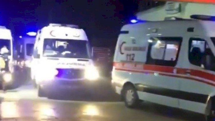 Trabzon'da korkutan ambulans yoğunluğu!