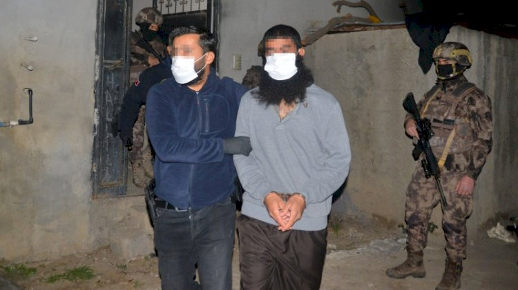 'İntikam eylemi' hazırlığındaki IŞİD'lilere şafak operasyonu