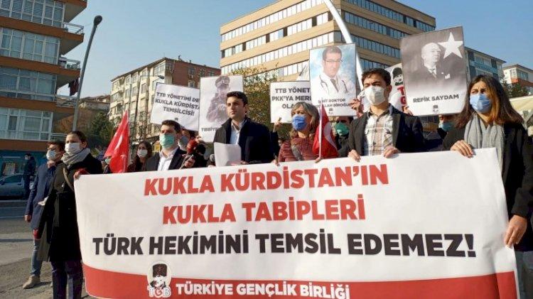 Ankara'da protesto: TTB'yi işgalden kurtaralım