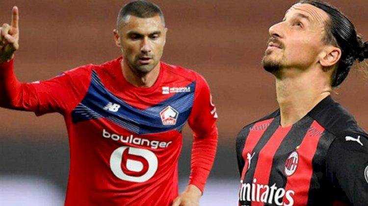 Burak Yılmaz, Zlatan Ibrahimovic'in rekorunu kırdı