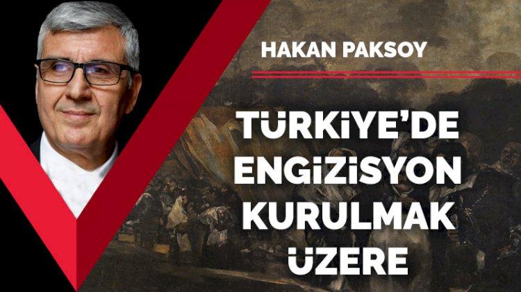 Türkiye'de engizisyon kurulmak üzere