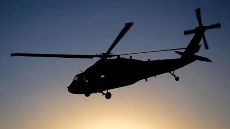 Fransa'da helikopter düştü