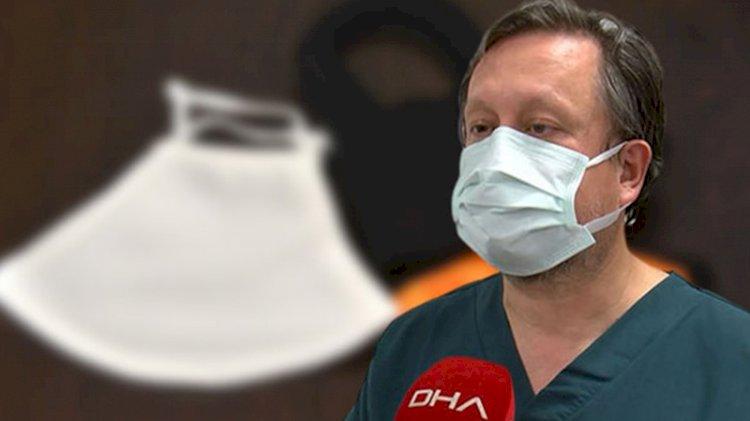 Prof. Dr. Oğuztürk çift maske konusunda uyardı