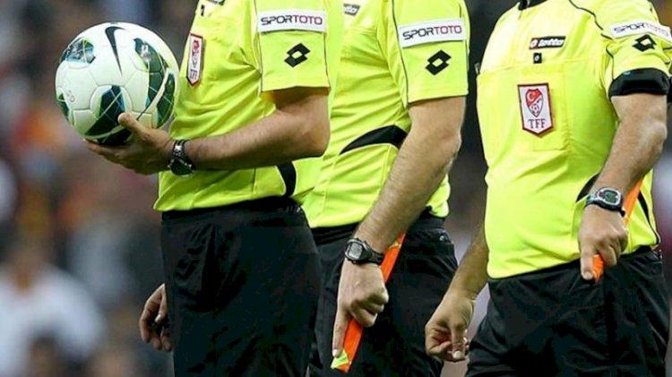 Süper Lig'de 12. hafta maçlarını yönetecek hakemler açıklandı