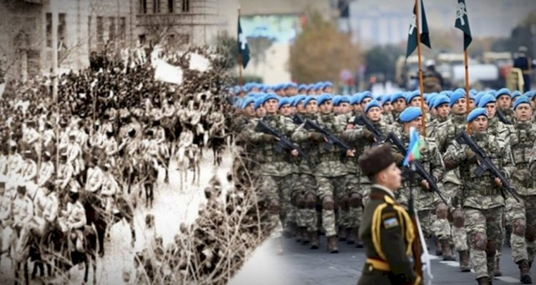 Türk askeri 102 yıl sonra yine aynı meydanda!