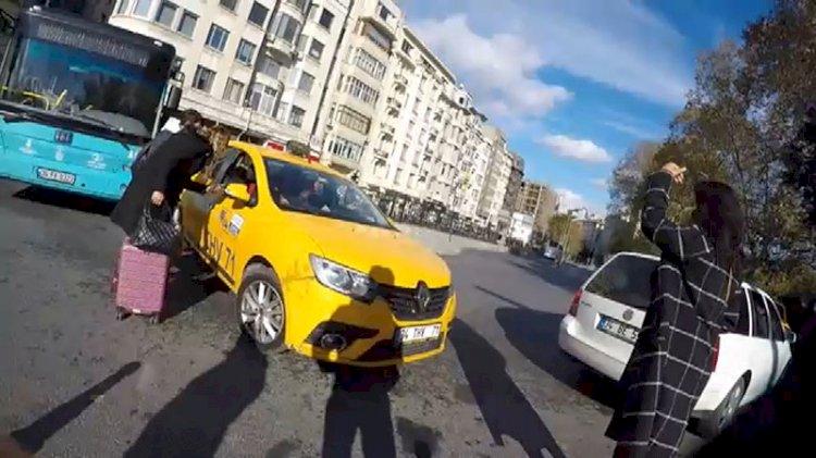 Turist kılığına giren zabıtaları şok oldu! Memleketten taksici manzaraları