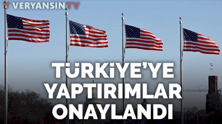 ABD Senatosu Türkiye'ye yaptırımların önünü açan yasayı kabul etti