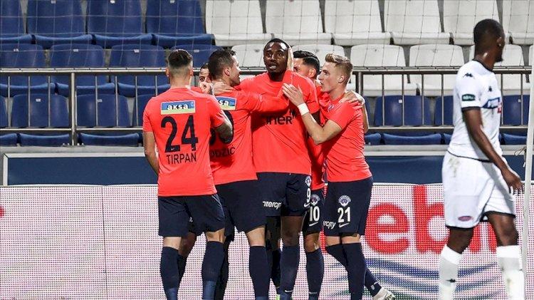 Kasımpaşa-Denizlispor maçında gol yağmuru