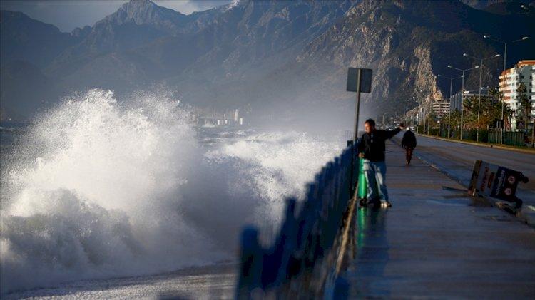 Akdeniz için fırtına uyarısı