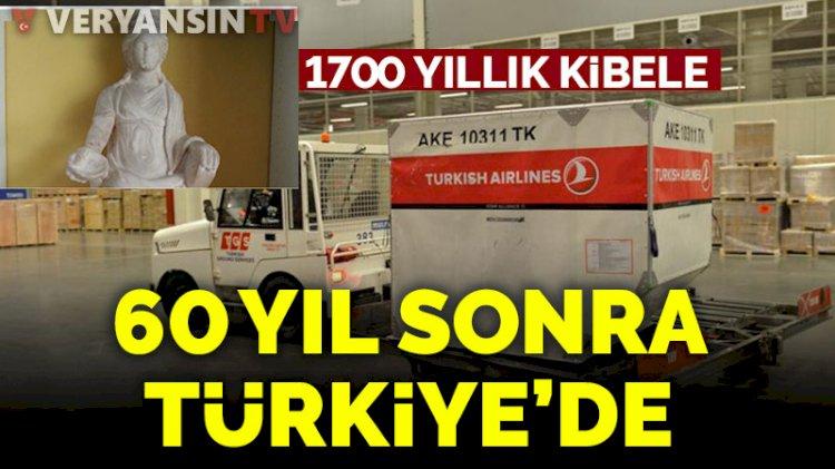 Bin 700 yıllık Kibele heykeli Türkiye'ye getirildi