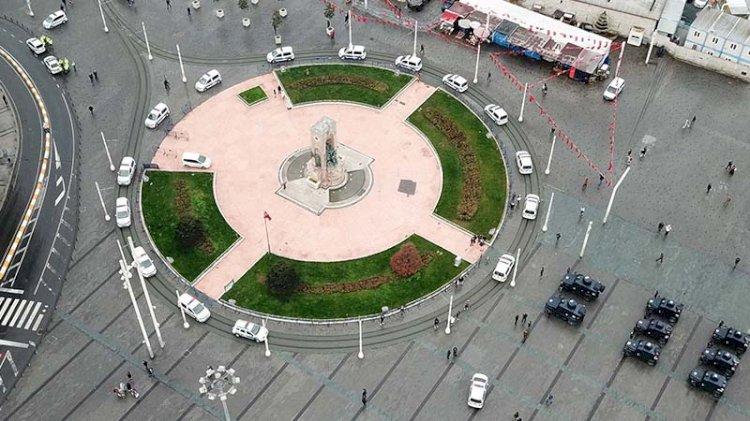 Taksim Meydanı'daki siren seslerinin sebebi belli oldu
