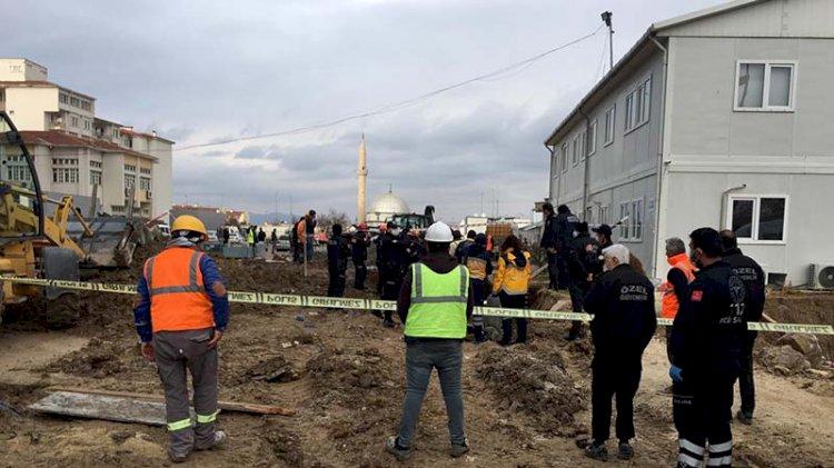 Ankara'da inşaat alanında toprak kayması: 2 işçi öldü