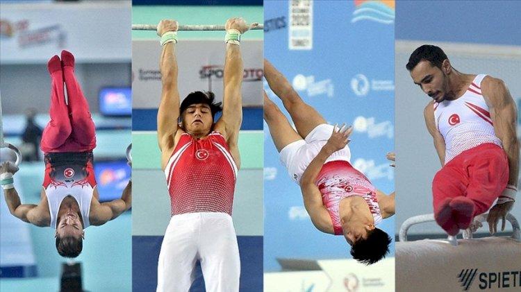 Milli sporculardan Avrupa Erkekler Artistik Cimnastik Şampiyonası'nda 7 madalya