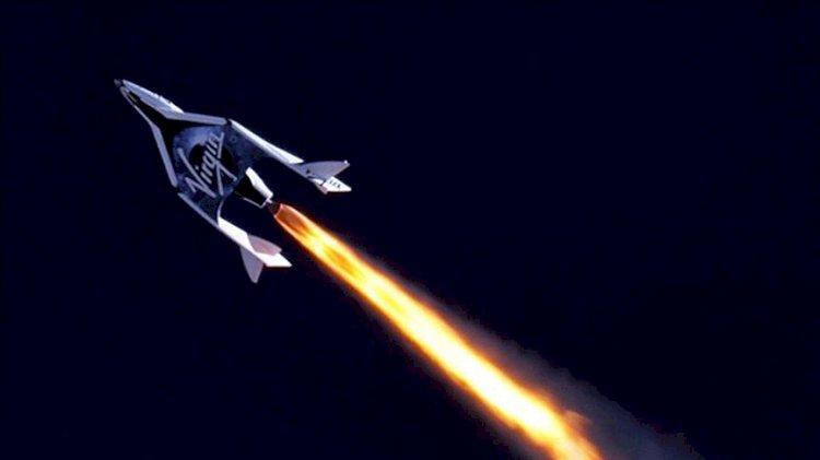 Uzay turizmi şirketi Virgin Galactic'in yörünge altı test uçuşu başarısız oldu