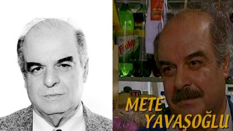 Ünlü oyuncu Mete Yavaşoğlu'ndan acı haber!
