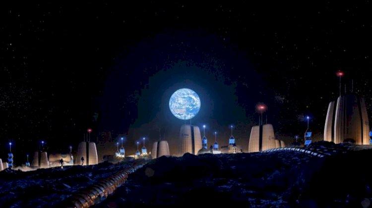İşte Ay'da inşa edilecek evler