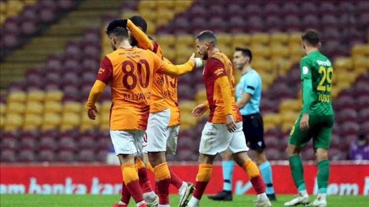 Galatasaray 3. Lig temsilcisini tek golle geçti