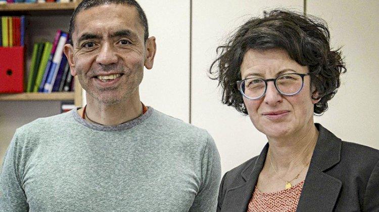 Özlem Türeci ve Uğur Şahin 'Yılın Kişisi' seçildi