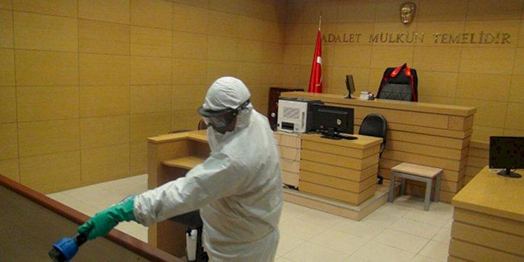 Adliye personeli böyle uyarıldı: Karantinaya alınan birimdeki herkese soruşturma açılacak