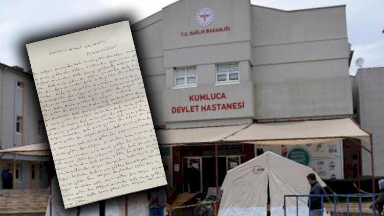 Hemşireye 'Ben salağım görev yerimi terk ettim' cezası