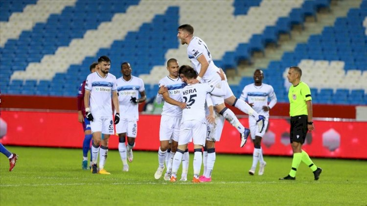 Adana Demirspor, Trabzonspor'u eledi
