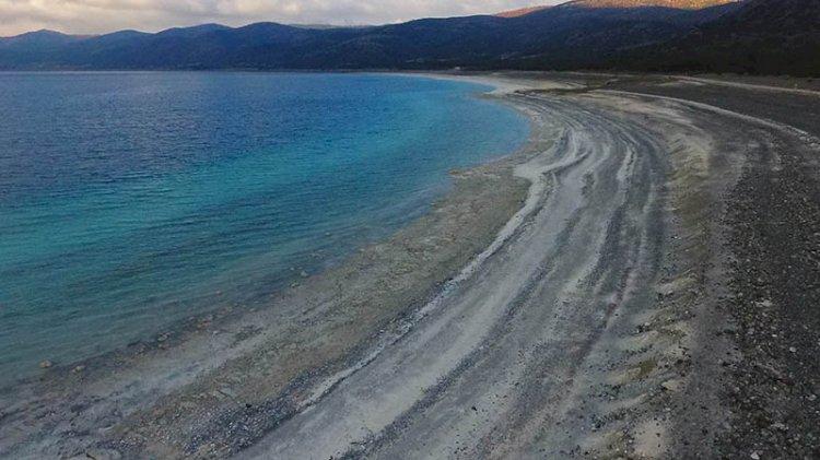 Salda Gölü kuraklıkla savaşıyor