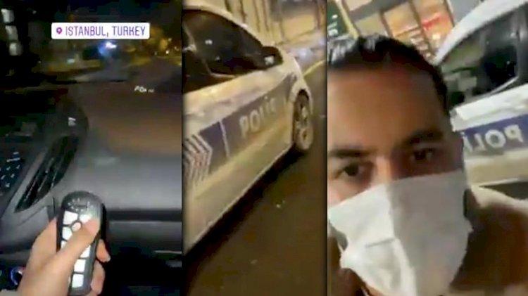 Polis aracını oyuncağa çevirmişti.. İranlı sosyal medya fenomenine inceleme