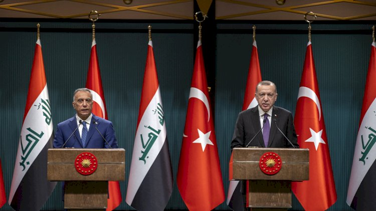 Ankara'da 'Sincar' zirvesi…Erdoğan  ve Kazımi'den ortak mesajlar
