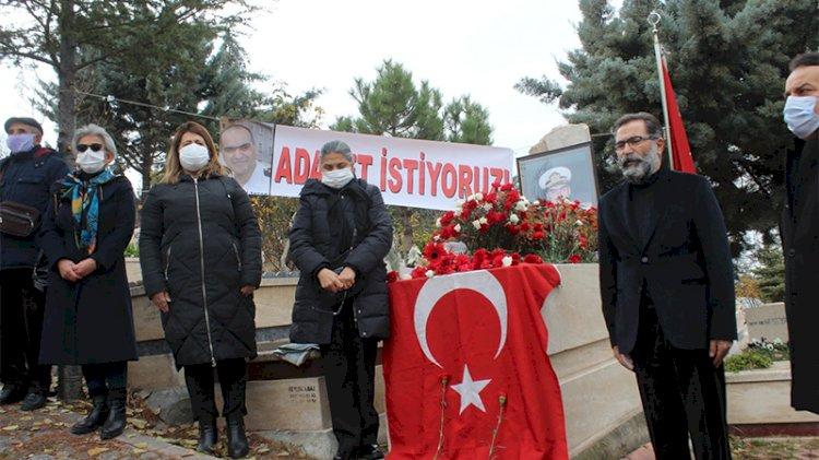 Kumpas şehidi Yarbay Ali Tatar mezarı başında anıldı