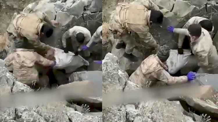 Kavga ettikleri babalarını elektrik kablosuyla boğup, mağaraya gömmüşler