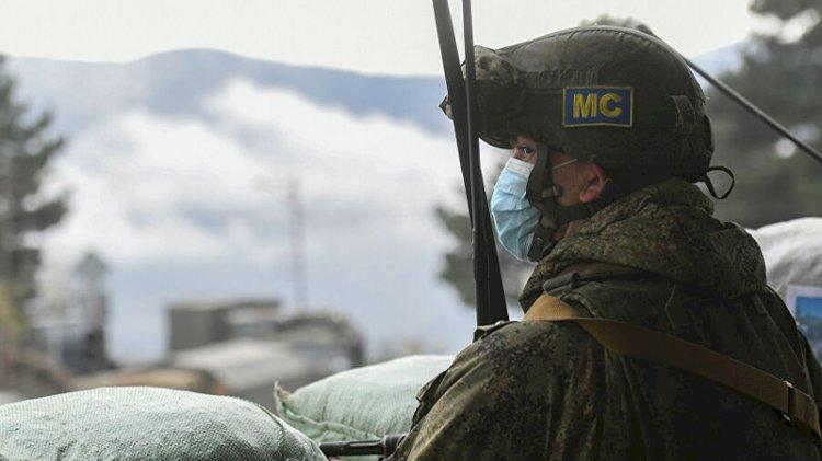 Karabağ'da bir Rus asker hayatını kaybetti