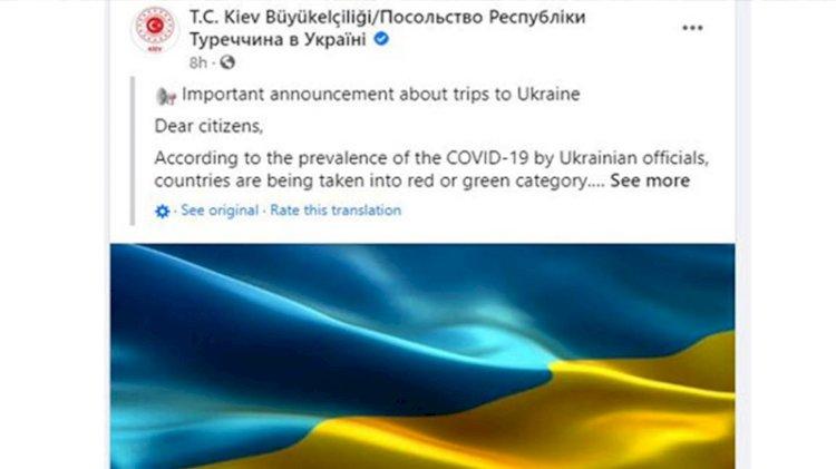 Ukrayna'ya gideceklere uyarı