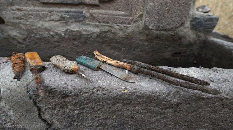 Ulucanlar Cezaevi restorasyonunda kesici alet zulası bulundu