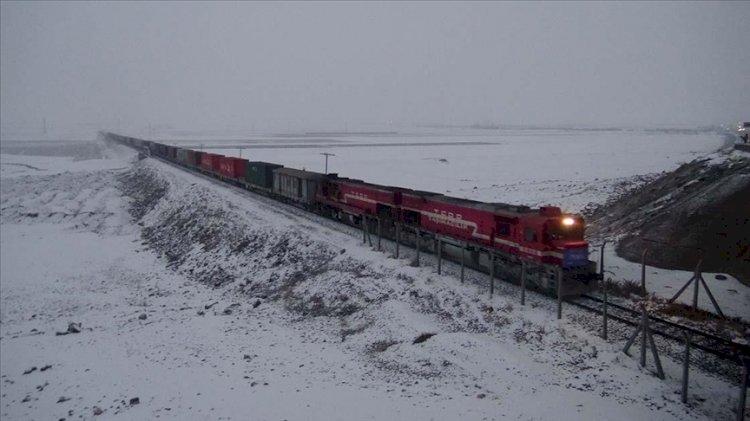 Türkiye'den kalkan ihracat treni Çin'e ulaştı