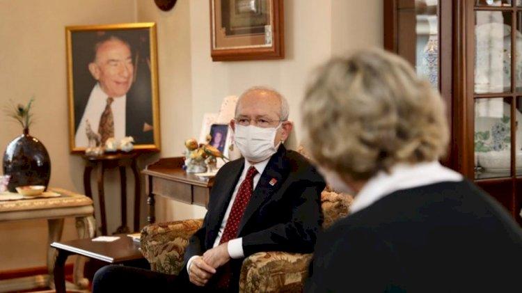 Dikkat çeken ziyaret... Kılıçdaroğlu Türkeş'lerin evinde