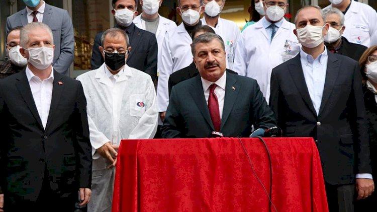 Bakan Koca'dan 'hastane yangını' açıklaması