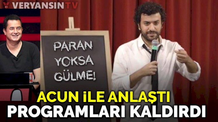 Acun'la anlaşan Hasan Can Kaya, 'Konuşanları'ı YouTube'dan kaldırdı