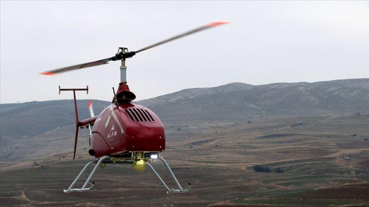 Türk şirketin geliştirdiği insansız helikopter göklerde