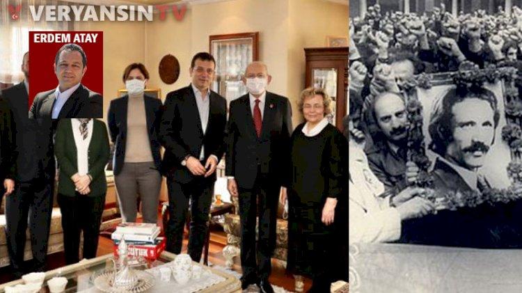 Ziyarette kimsenin bilmediği çarpıcı ayrıntı: Kaftancıoğlu ile Türkeş'in bağı ne?