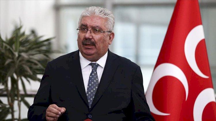 MHP'li Semih Yalçın'dan Kaftancıoğlu'nun sözlerine tepki: Bu bir darbe ve kalkışma imasıdır