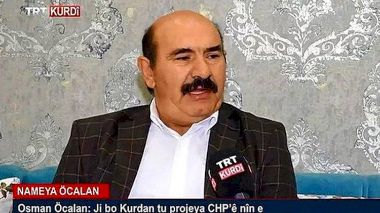 Osman Öcalan, TRT röportajıyla ilgili ilk kez konuştu