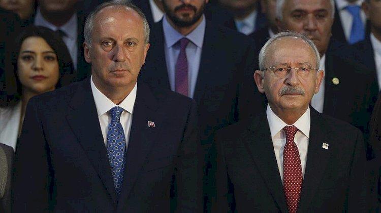 O ankette Kılıçdaroğlu İnce'nin gerisinde kaldı