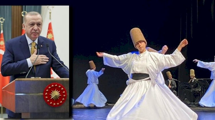 İşte Erdoğan'ı kızdıran o Şeb-i Arus töreni