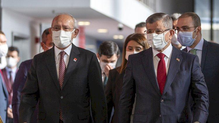 Davutoğlu: Kemal bey bizimle aynı noktaya geldi