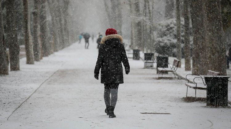 Meteoroloji'den 13 il için kar yağışı uyarısı
