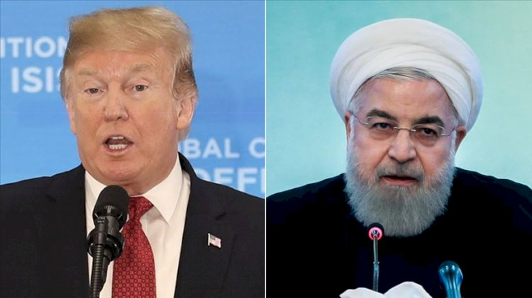 Ruhani'den Trump'a: 'Tarihi terörist'